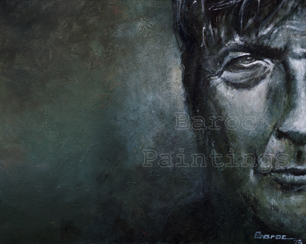 Arno - 30 x 40 - acryl on canvas - private collection