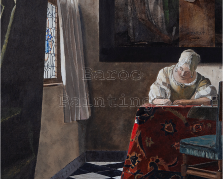 Brief aan Marat - 60 x 50 - Baroc Paintings - prijs op aanvraag
