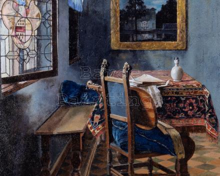 Ceci n'est pas un Vermeer,  70 x 50, Baroc Paintings