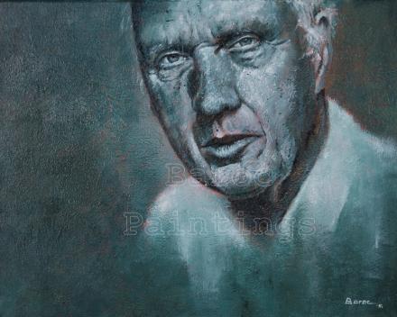 Herman - 30 x 40 - acryl on canvas - prijs op aanvraag