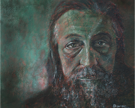 Ivan - 30 x 40 - acryl on canvas - private collection