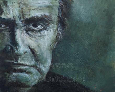Johnny - 40 x 30 - acryl on canvas - prijs op aanvraag