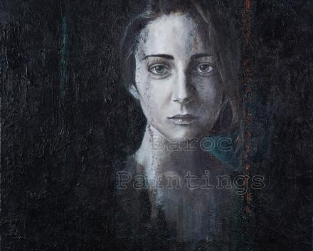 RECENT WERK - Pale Lena - 60 x 60