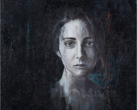Pale Lena - 60 x 60 - acryl on canvas - private collection