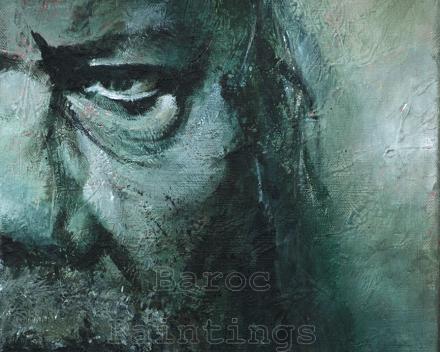 Roland - 40 x 30 - acryl on canvas - prijs op aanvraag