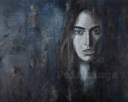 Sisterhood 1 - 80 x 80 - acryl on canvas - prijs op aanvraag